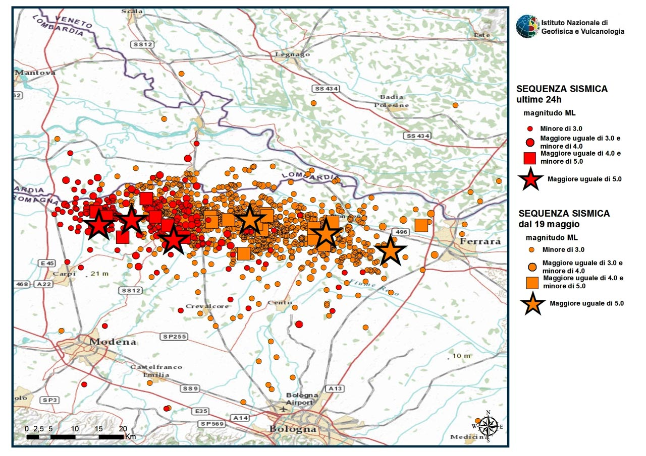 Continuing aftershock activity in Italy and travel to the region