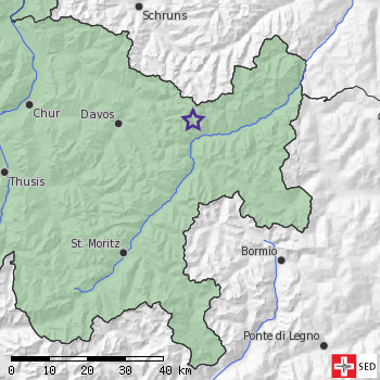 Earthquake near Zernez