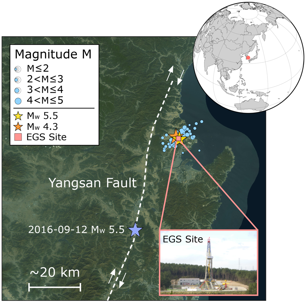 Anthropogenic or not? Investigating the magnitude 5.5 Pohang earthquake in South Korea